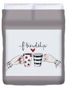 Friendship Duvet Cover