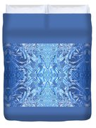 Frost Feathers Duvet Cover