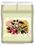 Fruit Of The Wild Rose Duvet Cover