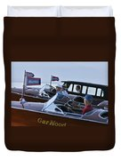 Gar Wood Masters Duvet Cover