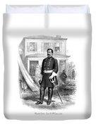 General George Mcclellan Duvet Cover