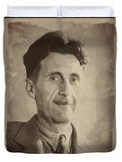 George Orwell 2 Duvet Cover