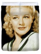 Ginger Rogers, Legend Duvet Cover