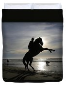 Horseback Riding Duvet Cover