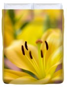 Glorious Lilies Duvet Cover