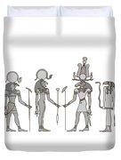 Gods Of Ancient Egypt Duvet Cover