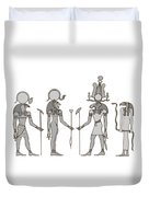 Gods Of Ancient Egypt Duvet Cover