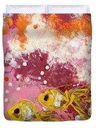 2 Gold Fish Duvet Cover