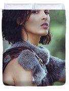 Got Warrior Princess Duvet Cover