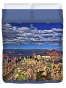 Grand Canyon #  4 - Mather Point Overlook Duvet Cover