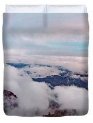 Grand Canyon Above The Clouds Duvet Cover