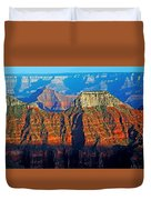 Grand Canyon National Park - Sunset On North Rim  Duvet Cover
