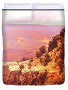 Grand Canyon Sunset Duvet Cover