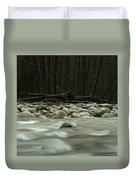 Granite And Water, Lynn Creek Duvet Cover