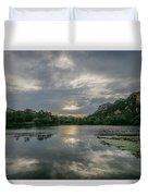 Granite Basin Lake Sunset Duvet Cover
