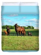 Grazing Duvet Cover