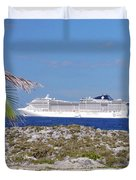 Great Stirrup Cay Duvet Cover