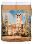 Greillenstein Castle Duvet Cover