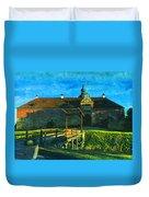 Gripsholm Castle Castle Autumn  Duvet Cover