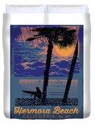 Hermosa Beach. Duvet Cover