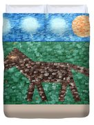 Horse Duvet Cover by Patrick J Murphy