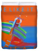 Hot Boat Duvet Cover