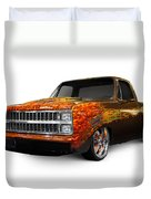 Hot Rod Chevrolet Scotsdale 1978 Duvet Cover