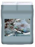 2. Ice Prismatics 1, Slaley Sand Quarry Duvet Cover