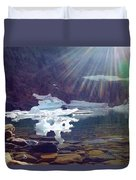 Iceberg Lake Duvet Cover