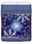 Snowflake Duvet Cover