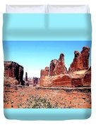 In Monument Valley, Arizona Duvet Cover