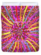 Infinity Star Flower An Abstract Fineart Expression By Navinjoshi At Fineartamerica.com Colorful Spe Duvet Cover