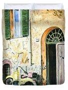 Italian Alley Duvet Cover