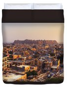 Jaisalmer - India Duvet Cover