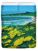 Jalama Beach Duvet Cover