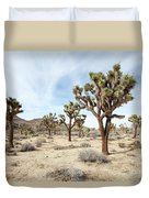 Joshua Tree National Park, California Duvet Cover