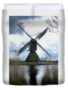 Kinderdijk Windmill Duvet Cover