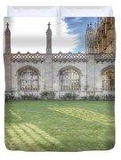 King's College Cambridge Duvet Cover