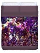 Kittens Cat Cat Puppy Rush  Duvet Cover