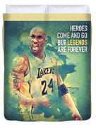 Kobe Bryant Duvet Cover