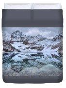 Lake Mcarthur Reflection Panoramic Duvet Cover