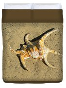 Lambis Arthritica Spider Conch Duvet Cover