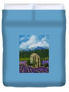 Lavender Farm Duvet Cover