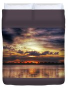 Layered Clouds Duvet Cover