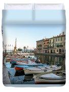 Lazise - Italy Duvet Cover
