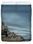 Le Mont Saint Michel Duvet Cover