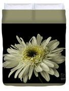 Leucanthemum Highland White Dream Duvet Cover