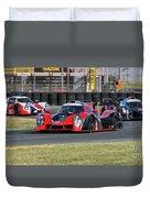 Ligier Js P3 Le Mans Prototype 3 Lmp3 Duvet Cover