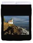 Lime Kiln Lighthouse Duvet Cover