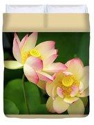 Lotus Blossom Duvet Cover